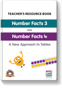 Number Facts 3 and 4 Resource Book Cover 320px